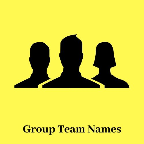 22+ Group names with 7 members info