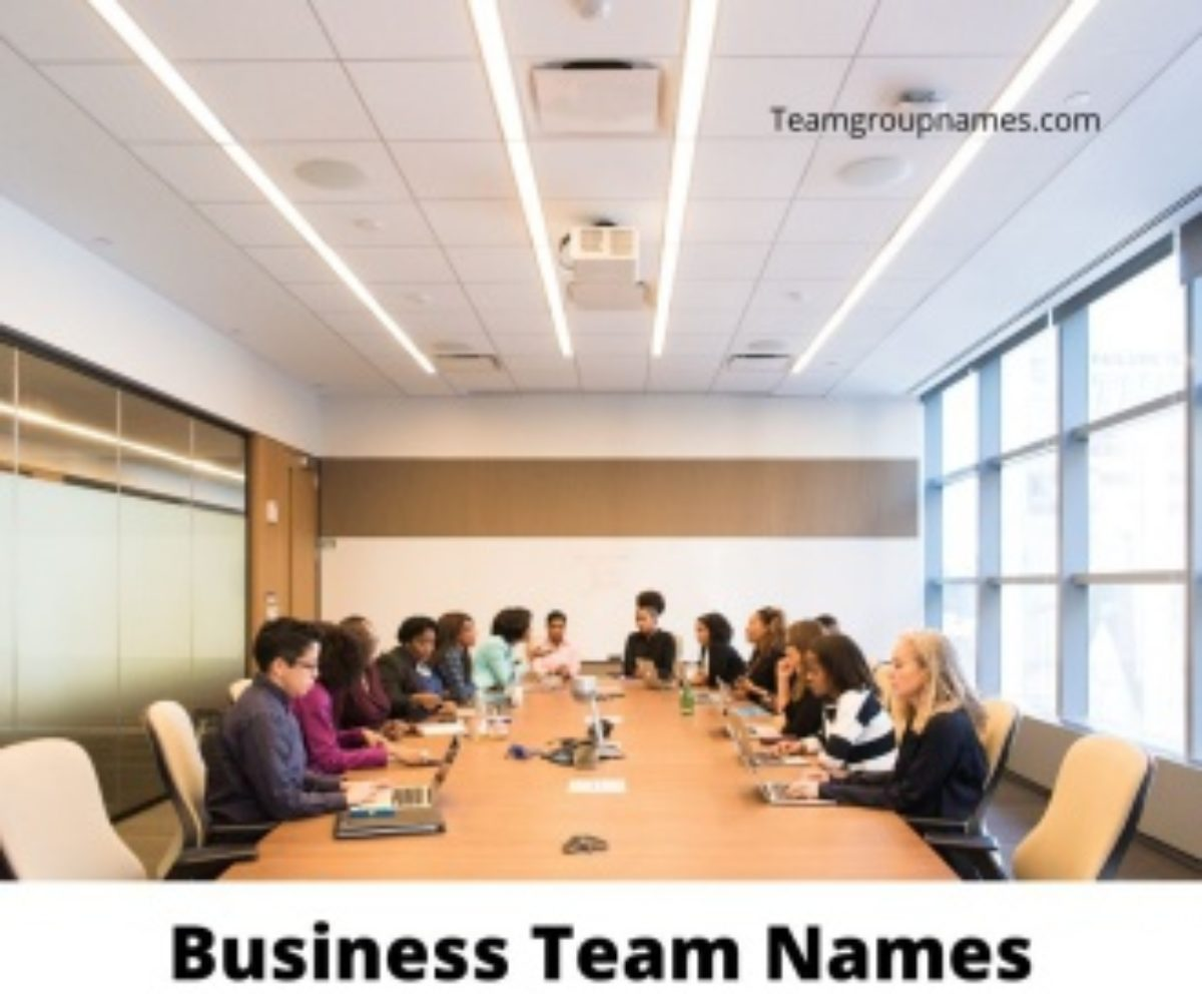Business Team Names Ideas 2021 Company Project Corporate Office