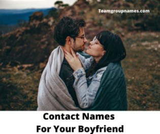 Contact Names For Your Boyfriend