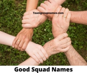 Good Squad Names