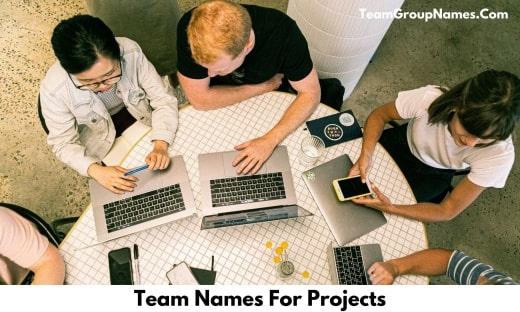 Team Names For Projects