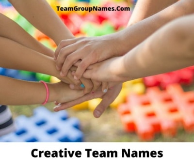 Creative Team Names