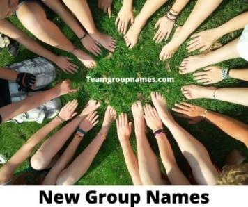 New Group Names