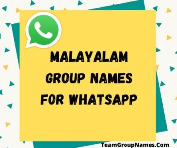 Malayalam Group Names For Whatsapp
