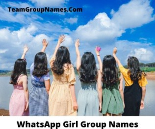 WhatsApp Girl Group Names