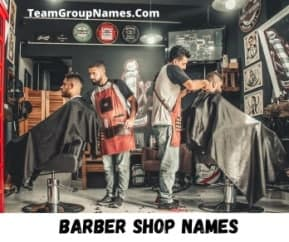 Barber Shop Names
