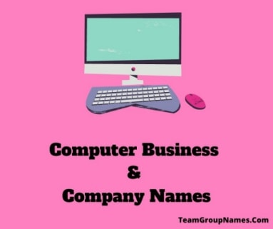 Computer Business & Company Names