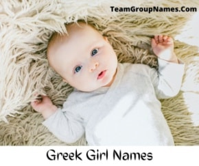 Greek Girl Names