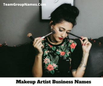 550 Makeup Artist Business Names 2021