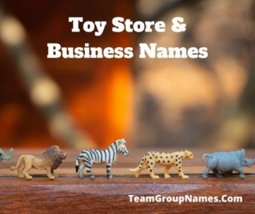 Toy Store & Business Names