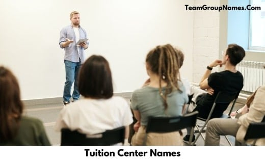 Tuition Center Names