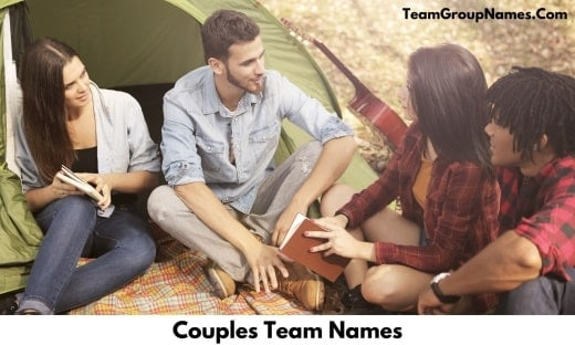 Couples Team Names