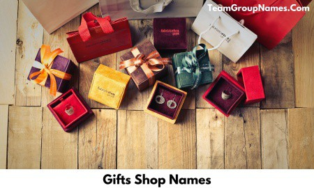 Gifts Shop Names