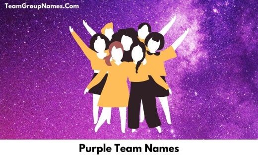 Purple Team Names