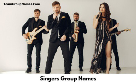Singers Group Names