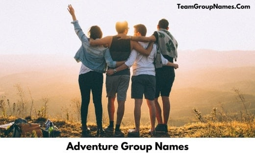 Adventure Group Names