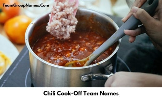 Chili Cook Off Team Names