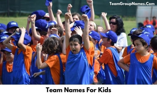 Team Names For Kids