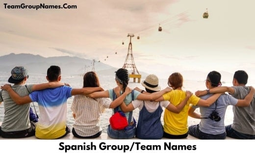 Spanish Group_Team Names